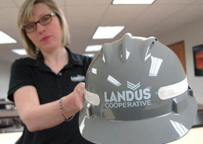 Printed helmets by Speedpro Canada